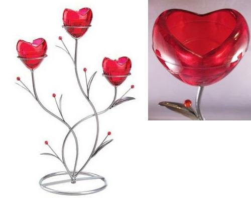 Аксессуары в форме сердца ко Дню святого Валентина