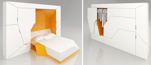 Ультракомпактная мебель для маленькой квартиры