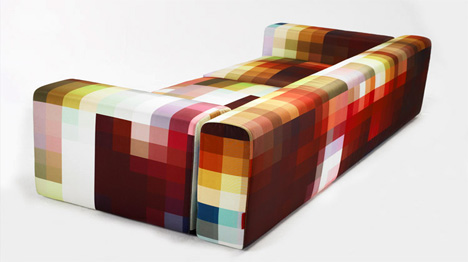 Необычный диван, дизайн дивана, обивка для дивана