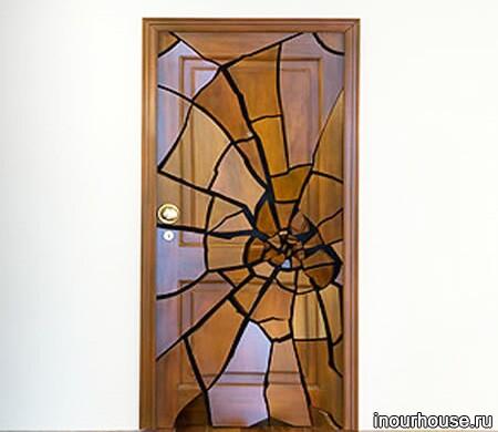 Креативные межкомнатные двери