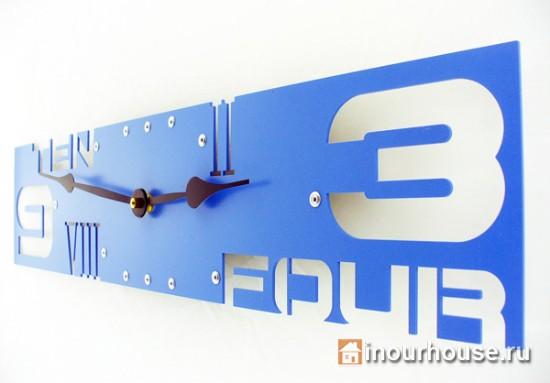 Настенные часы с необычным дизайном