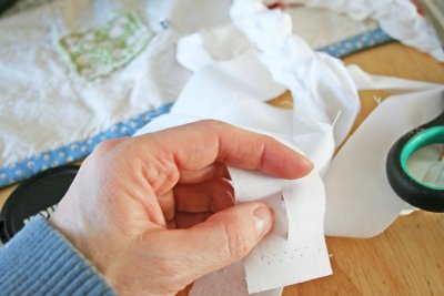 Плетеный коврик своими руками