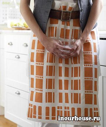 Нестандартное применение кухонных полотенец