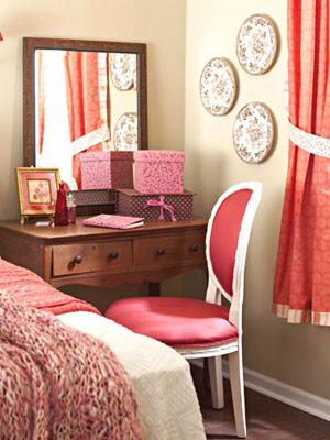 Нежная и романтичная спальня