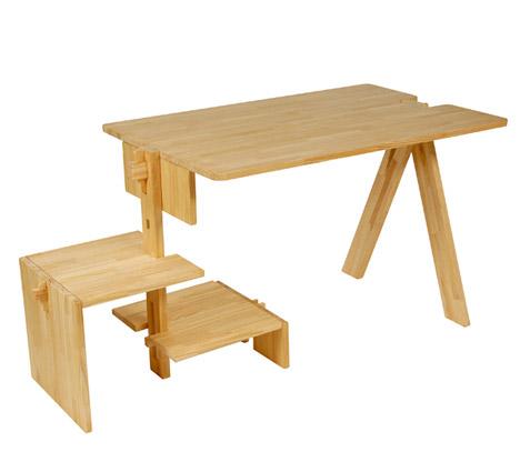 Компактный стол-трансформер своими руками