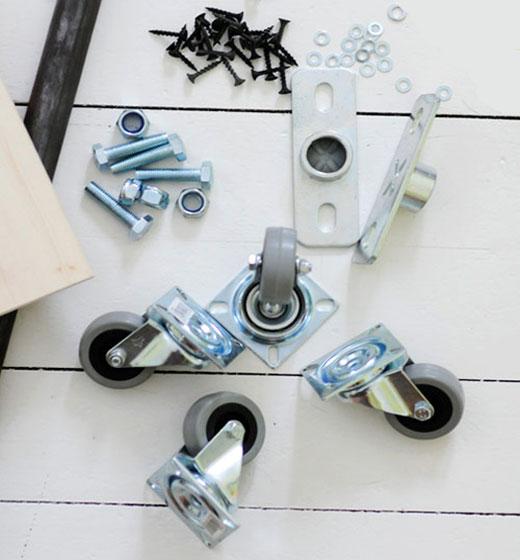 Ширма (перегородка) для комнаты на колесах своими руками