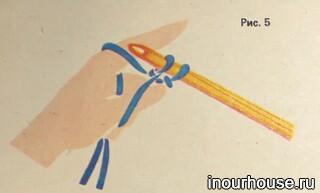 Уроки вязания: накидываем петли