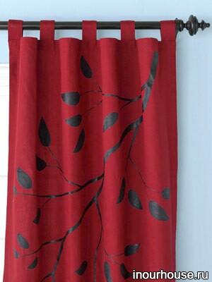 Самодельные шторы, самодельные занавески, занавески своими руками, шторы своими руками, как сделать шторы, как оформить шторы, украсить шторы, украсить занавески